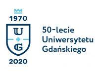 logo UG, jubileuszowe